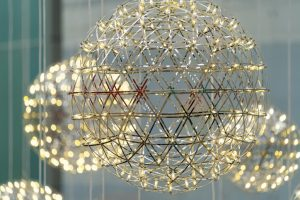 colourful round chandelier