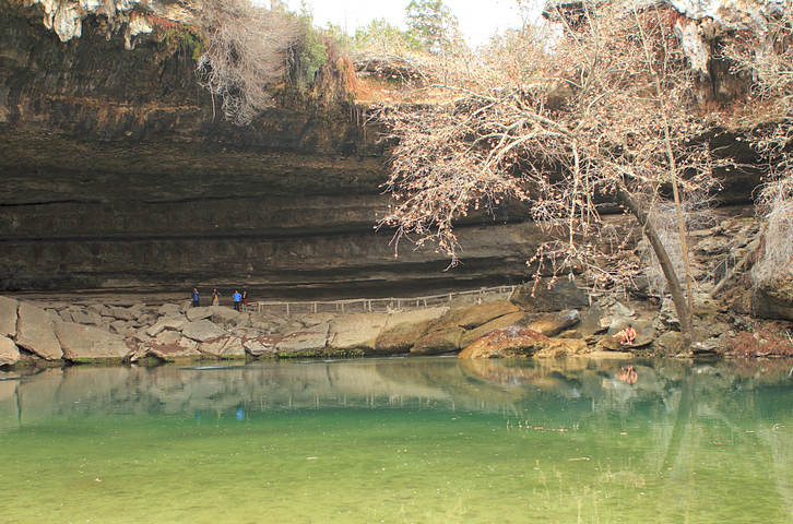 swimming hole in texas